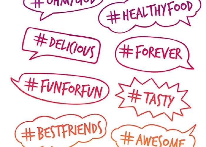 Sử dụng hashtag nhắm đến đối tượng khách hàng