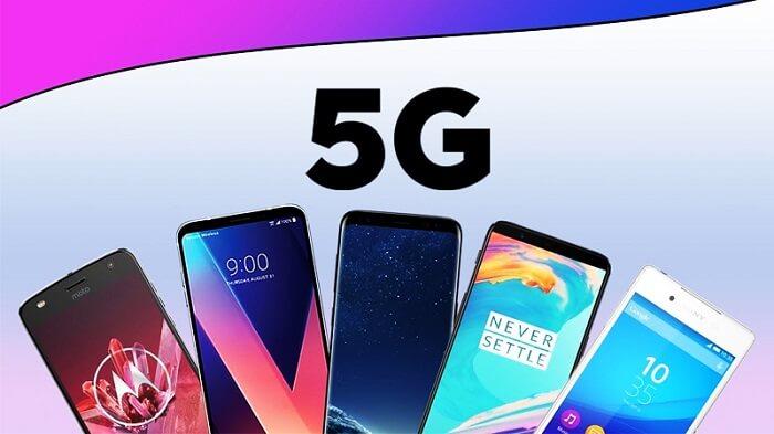 Hiện nay đã có một loạt các dòng smartphone có hỗ trợ kết nối mạng 5G