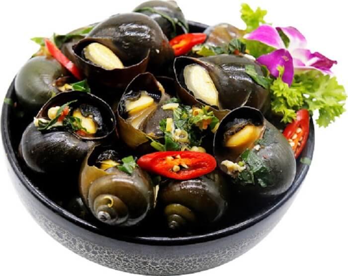 Ốc cũng được xem là một trong những món ăn nên kiêng kị vào mùng 1